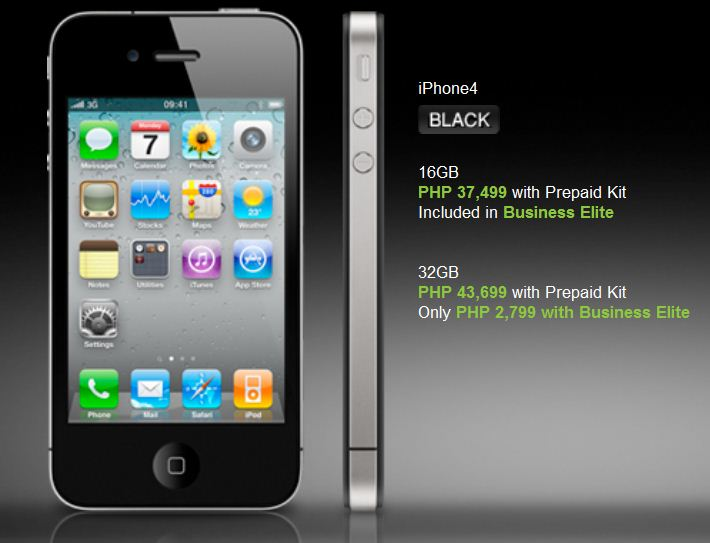 , Globe Now Offers iPhone 4 Pre-Registrations, Gadget Pilipinas