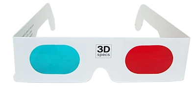 wear your 3D glasses