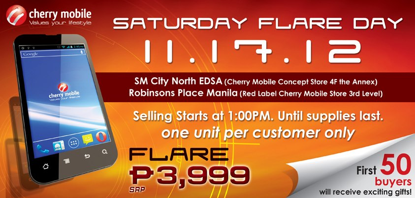Are you Ready for the Cherry Mobile Flare Day?
