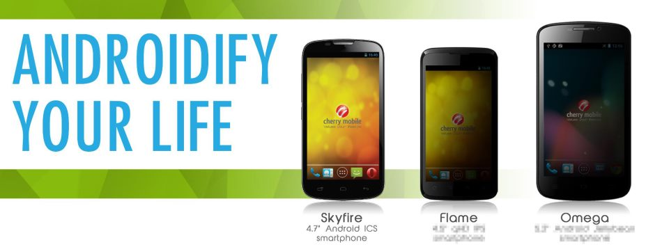 Cherry Mobile to Launch Skyfire, Flame and Omega in the First Week of December?