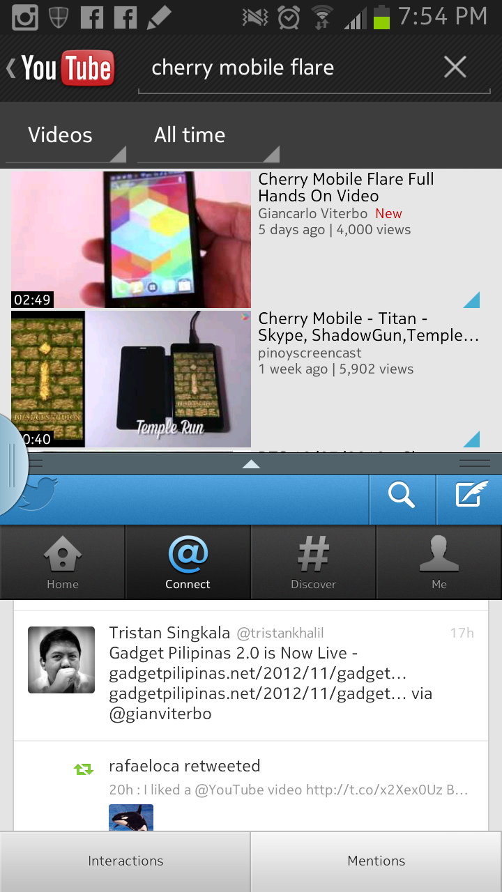 Galaxy Note 2 Multiview