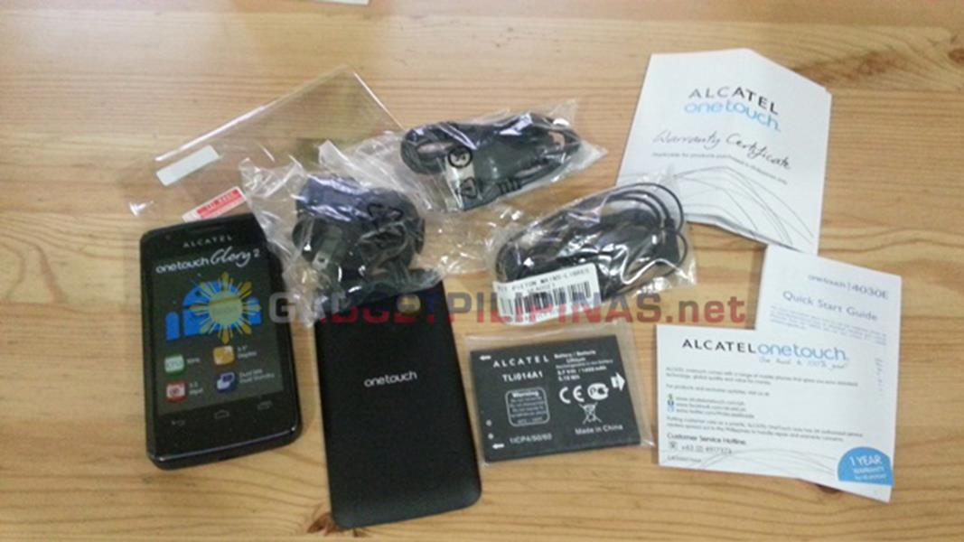 alcatel onetouch glory 2, Unboxing and First Impressions: Alcatel One Touch Glory 2, Gadget Pilipinas