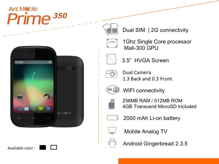 Slide08 Arc Mobile Enters the Android Phone Competition, Offers Affordable Quad Core phone