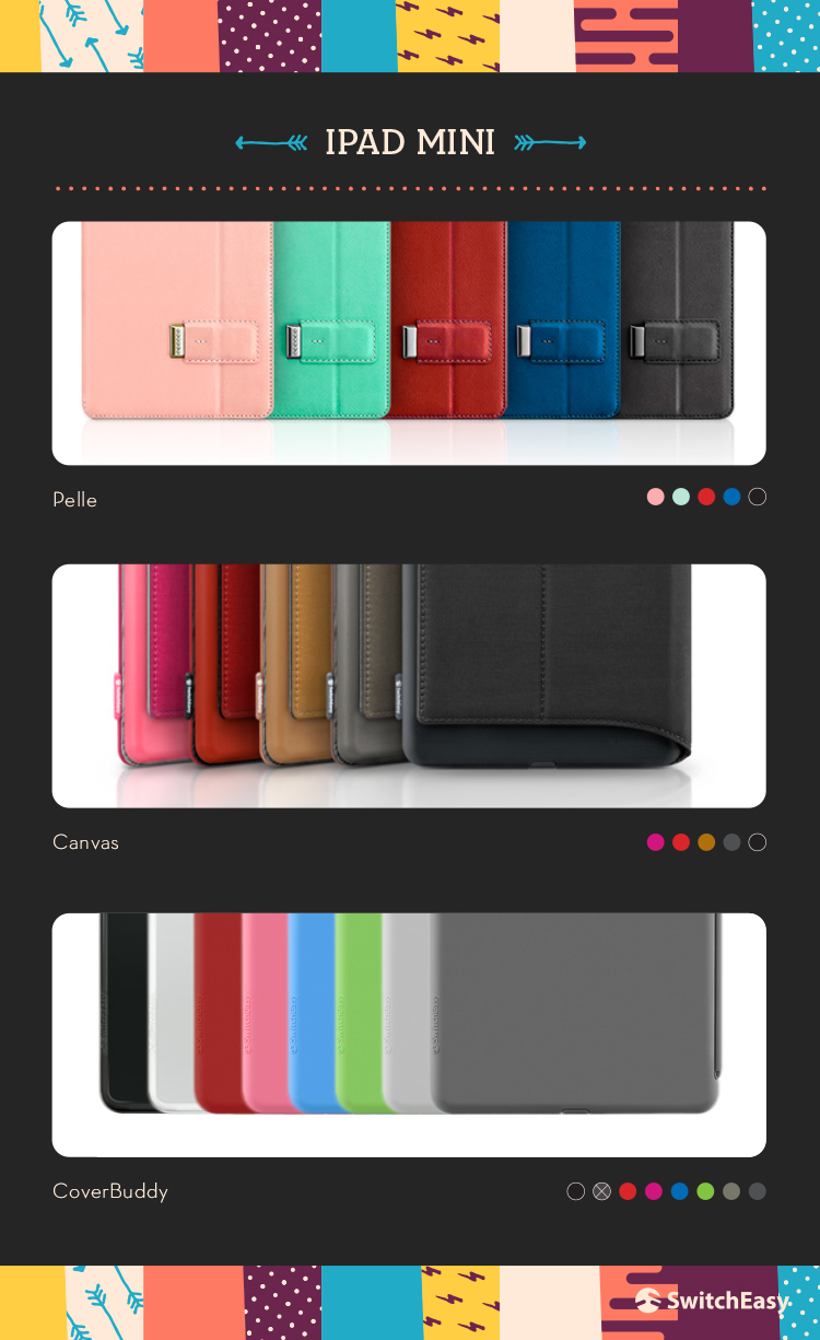SWITCHEASY iPad Mini Cases