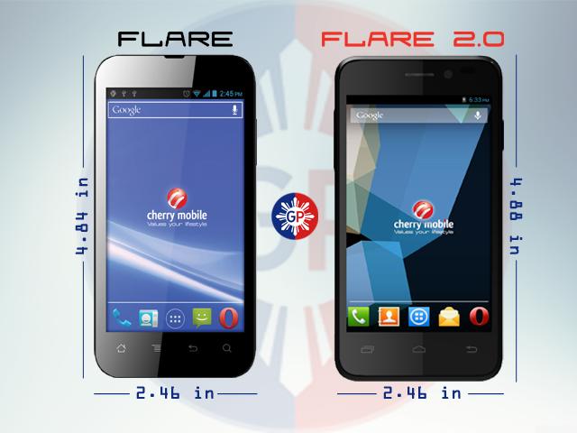 Flare vs Flare 2.0