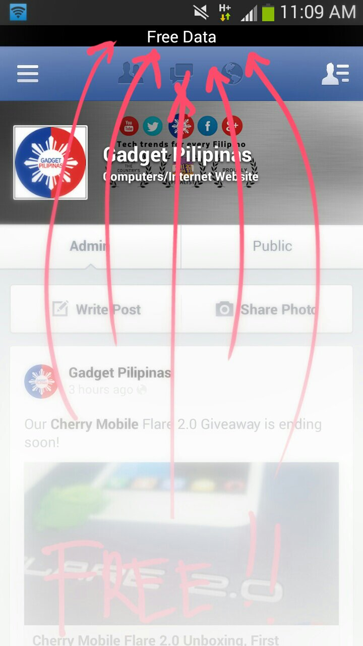 Globe Facebook Free, Globe Telecom and Facebook Partner to Offer Free Access to Facebook, Gadget Pilipinas