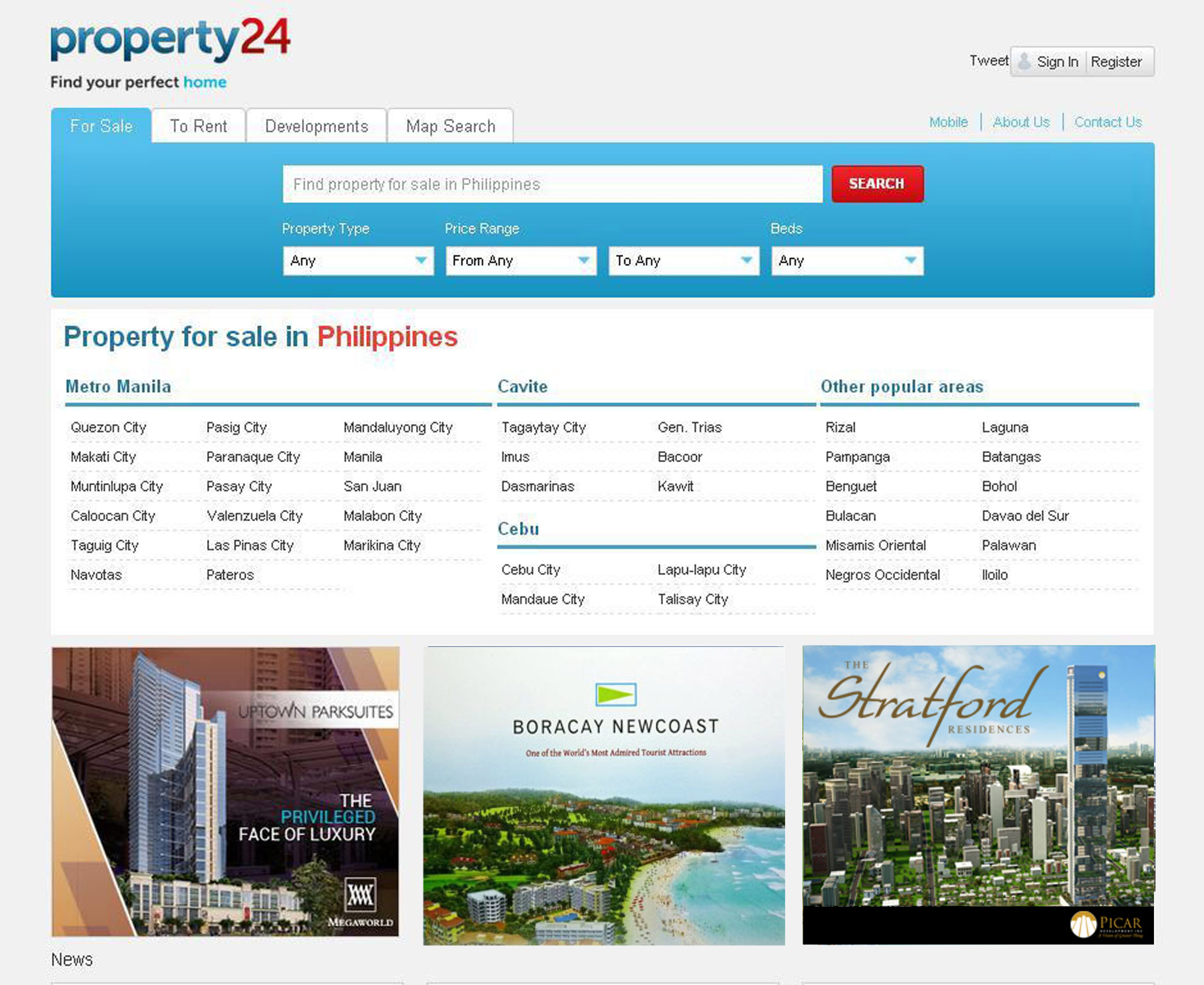 Property24 Property search portal photo1 Sulit Launches Property24 Website