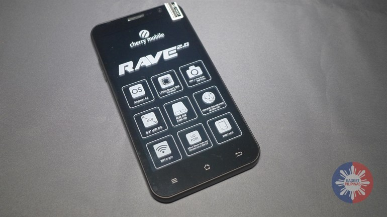 Cherry Mobile Rave 2.0 Unboxing 9