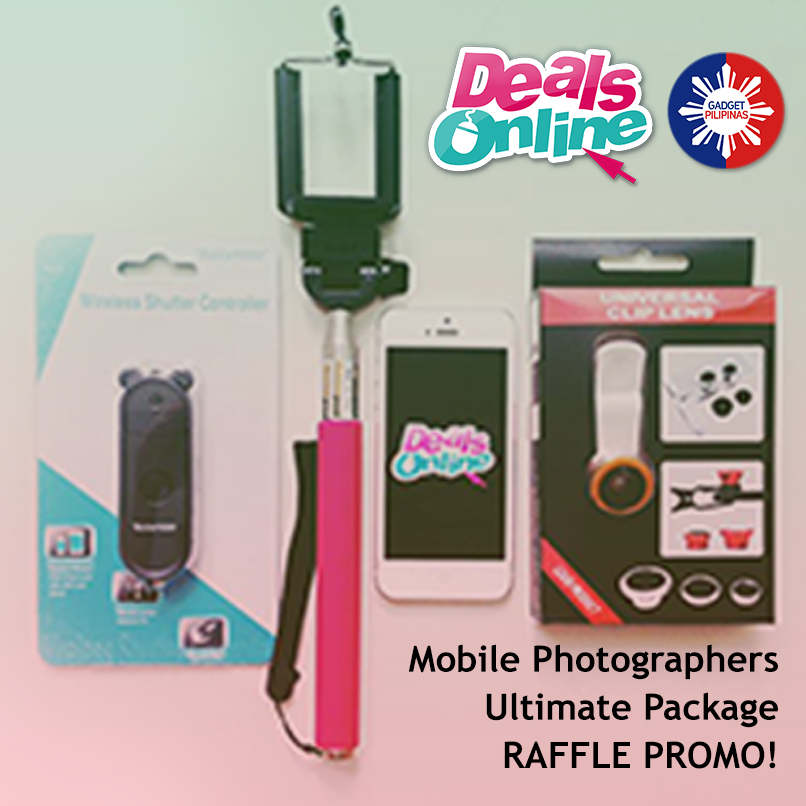 DealsOnline Mobile Photographers Ultimate Package Giveaway