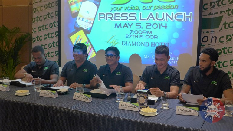 DTC Mobile Introduces 5 Filipino Ballers as Pioneer Brand Ambassadors