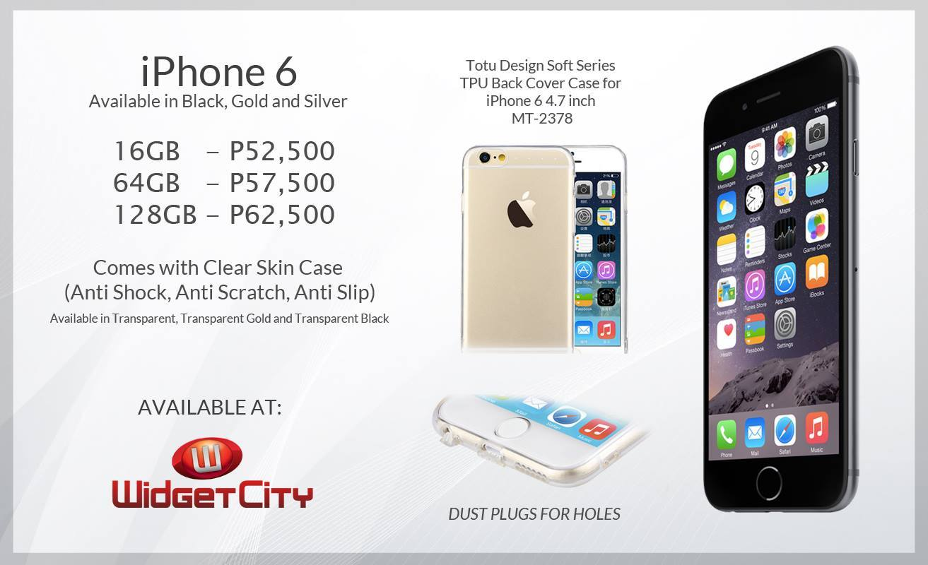 iphone 6 and iphone 6 plus now available in the philippines gadget