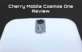 Cherry Mobile Cosmos One Unboxing and Quick Review