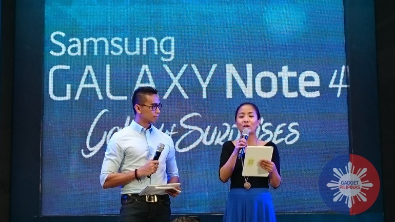 Samsung Officially Launches Galaxy Note 4 in the Philippines