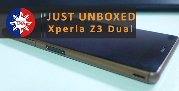 Sony Xperia Z3 Dual Unboxing and First Impressions