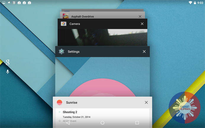 Android 5.0 Lollipop Technical Preview on Nexus 7 2013