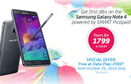 Smart Releases Pricing and Availability of Galaxy Note 4
