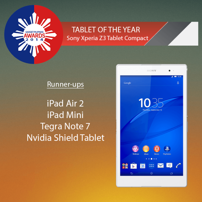 Tablet of the Year