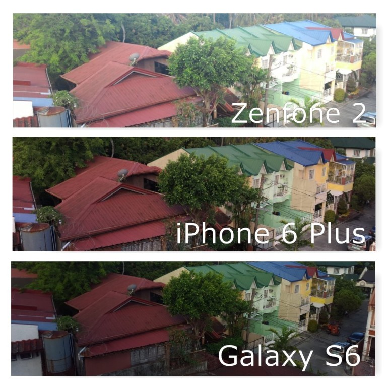 Zenfone 2 vs iPhone 6 Plus vs Galaxy S6