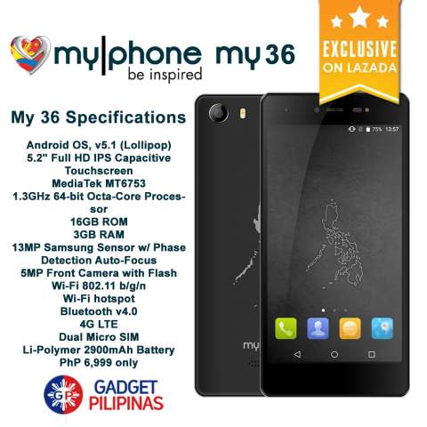 My36 480x480 - MyPhone My 36 Availability Announced, Priced at PhP6999