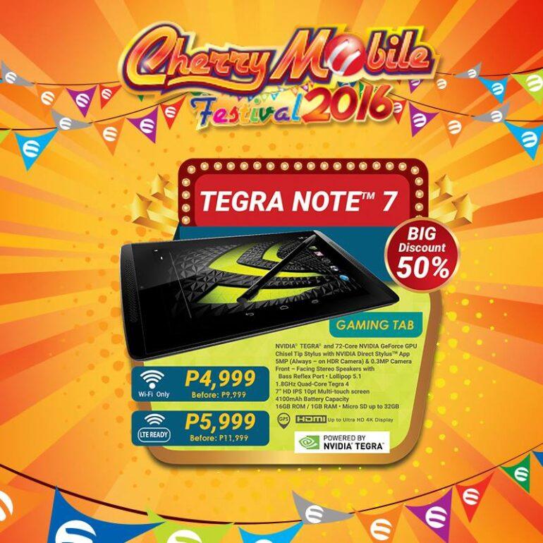 Cherry Mobile Tegra Note 7