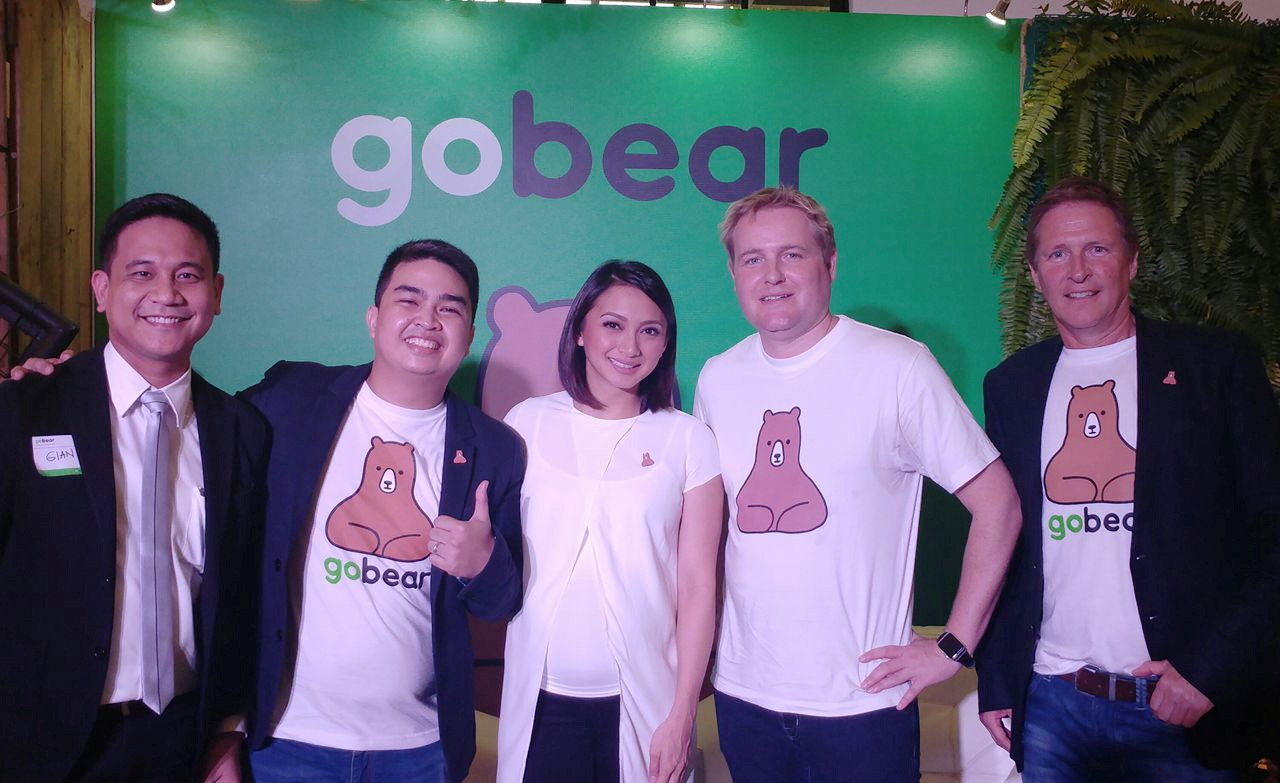 Pioneer's Digital Media Solutions Head Gian Viterbo, GoBear Philippines Country Manager Rommel Torres, Celebrity Brand Influencer Iya Villania-Arellano, Co-Founder Marnix Zwart, and CEO and Founder Andre Hesselink