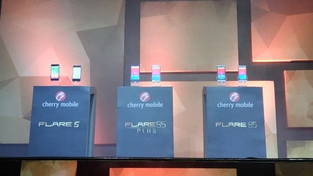The Cherry Mobile Flare 5, Flare S5, and Flare S5 Plus