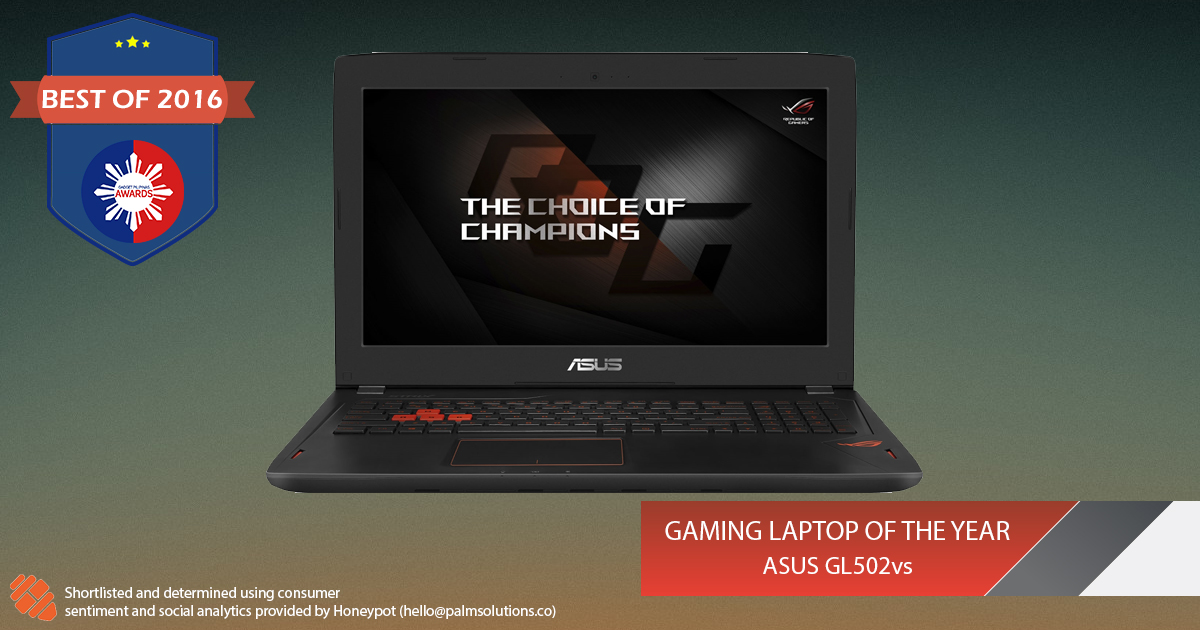 Laptop of the Year