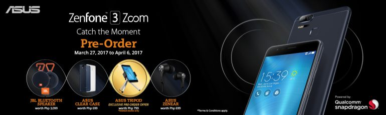 , The ASUS ZenFone 3 Zoom is Now Available for Pre-Order!, Gadget Pilipinas