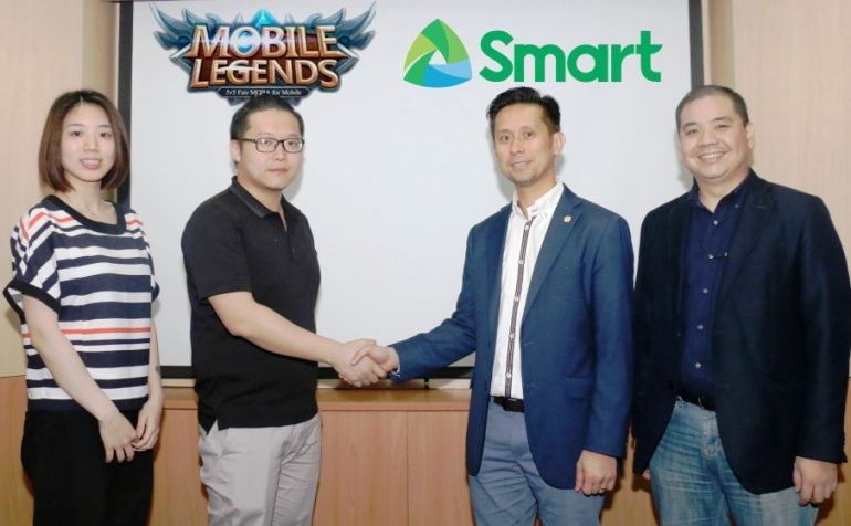 Smart and TNT Partner with Mobile Legends Developer Moonton to