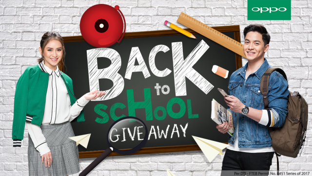 OPPO Back To School Giveaway KV