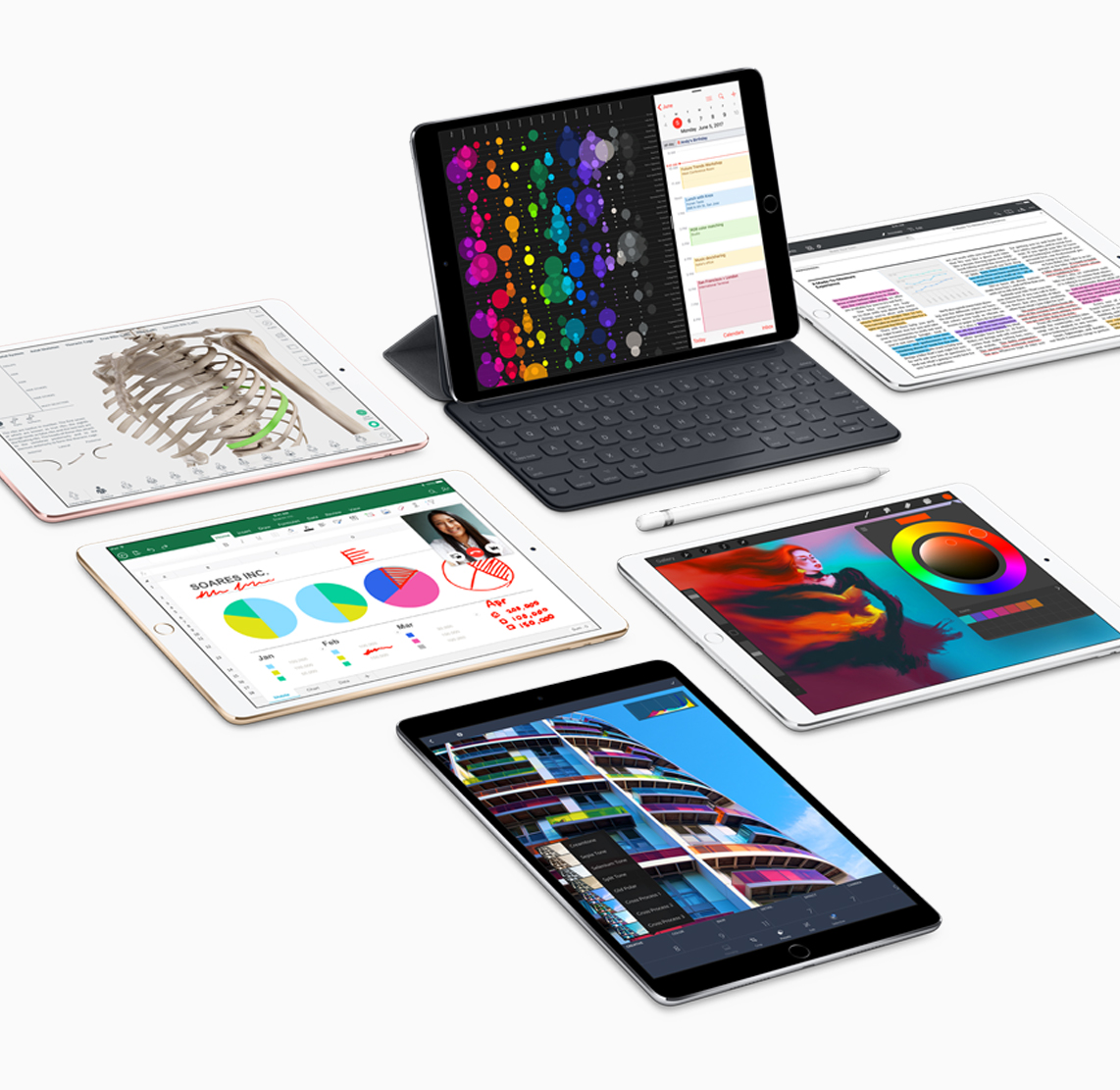 , Apple Intros New iPad Pros with A10X Fusion Chip, 120Hz Displays, and iOS 11, Gadget Pilipinas