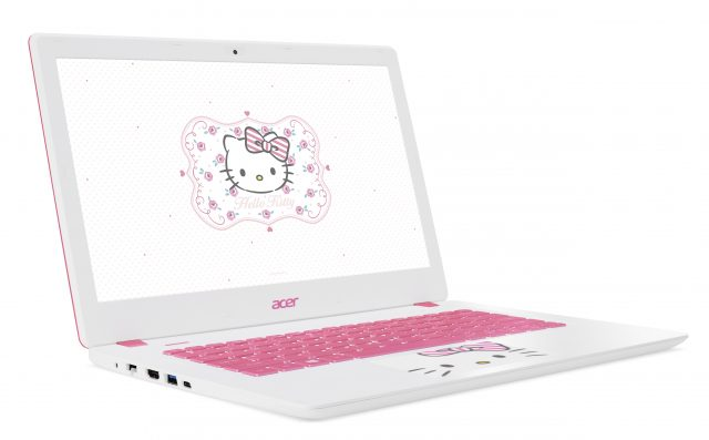 Acer Limited Edition Hello Kitty Laptop Now Available in PH
