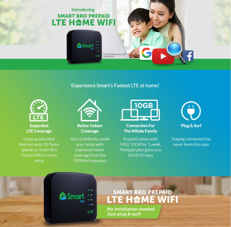 , Take advantage of newly upgraded LTE in your area with Smart Bro LTE Home WiFi, Gadget Pilipinas