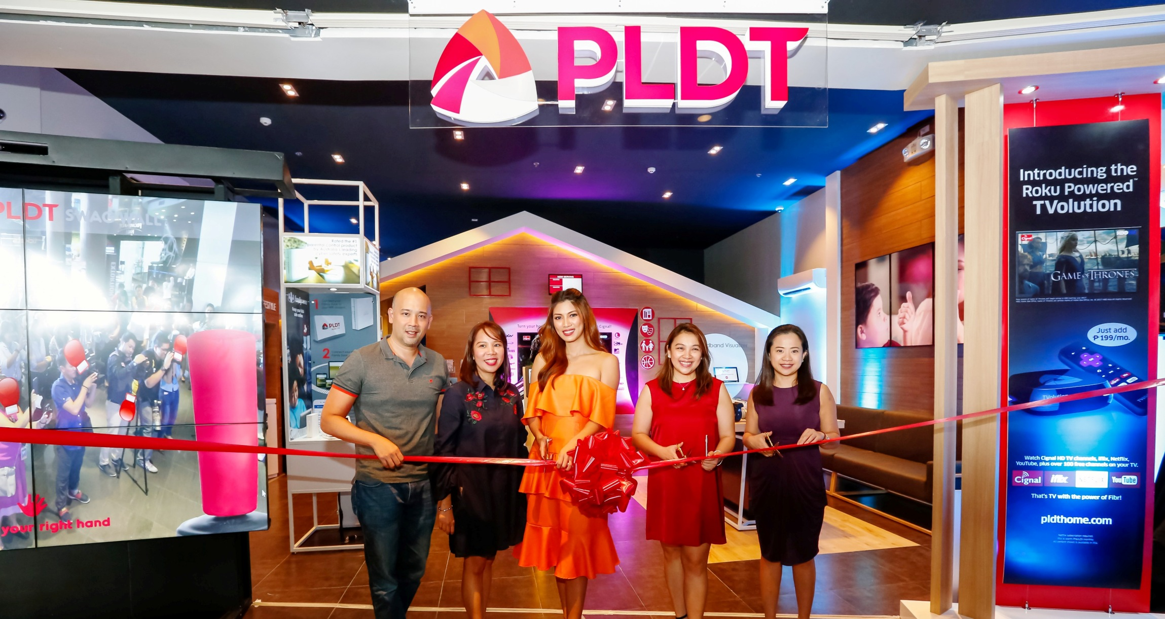 PLDT Greenhills SSC Ribbon Cutting