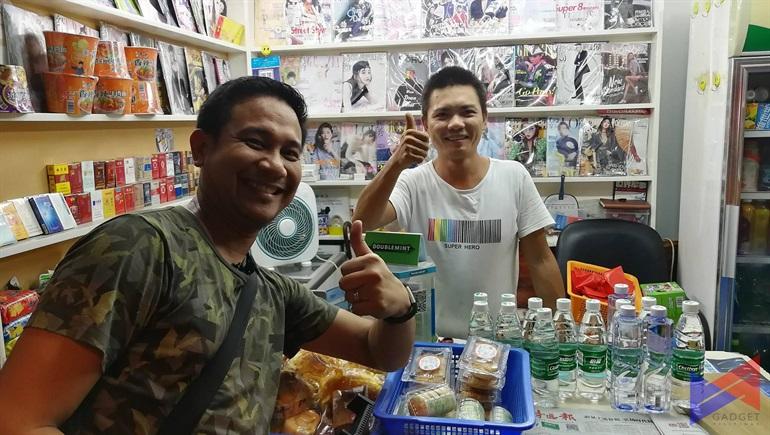 Cashless Fondness: My Cashless Transaction experience at Shenzhen