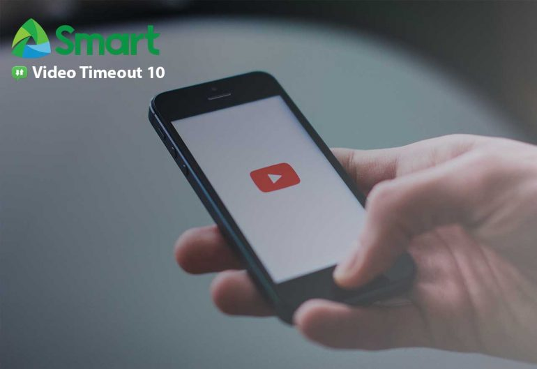 Smart Video Timeout 770x529 - Smart's Video Timeout Lets You Enjoy Unlimited Access to YouTube For as Low as PhP10!