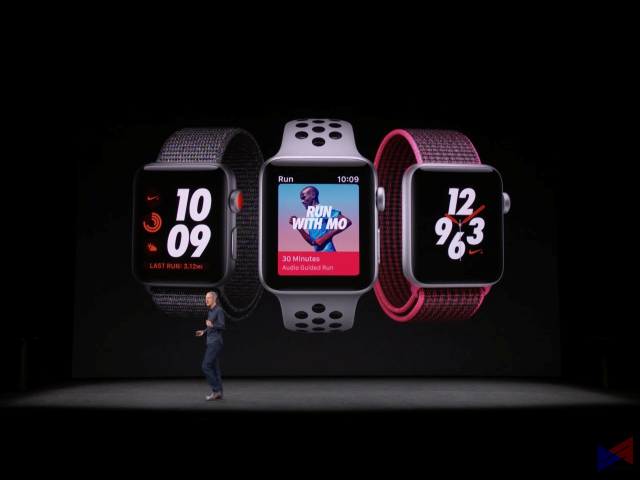 Apple Watch Series 3 Goes Official: WatchOS 4 and Cellular Capabilities