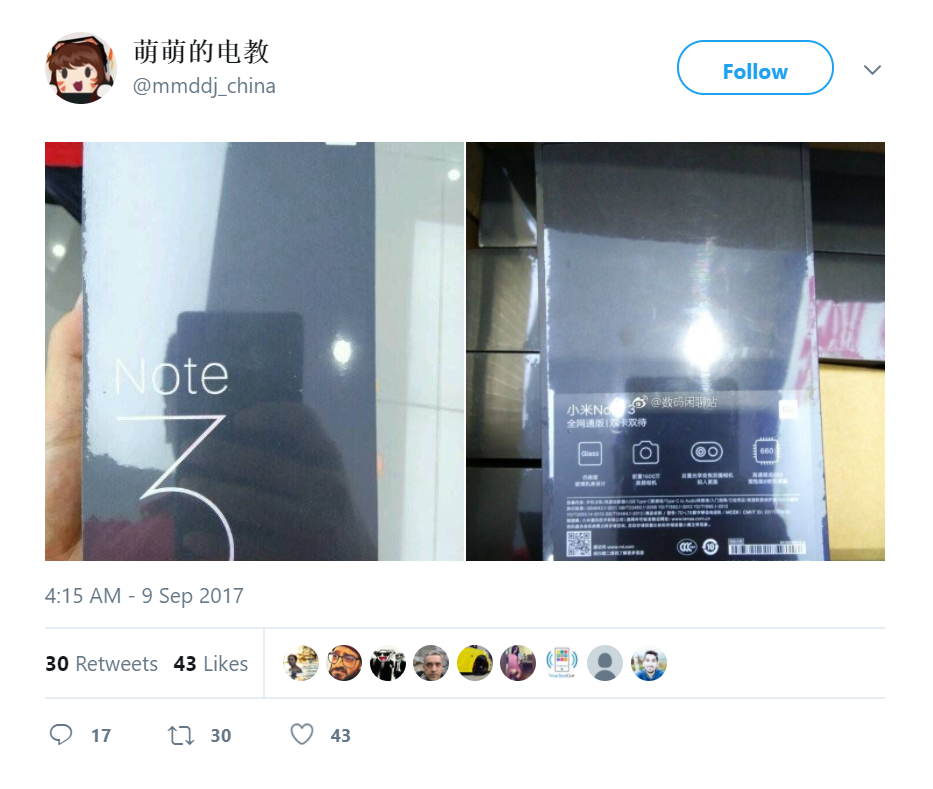 mi devices 02 - Xiaomi Mi Mix 2 and Mi Note 3 Specs and Prices Leak Ahead of Official Launch