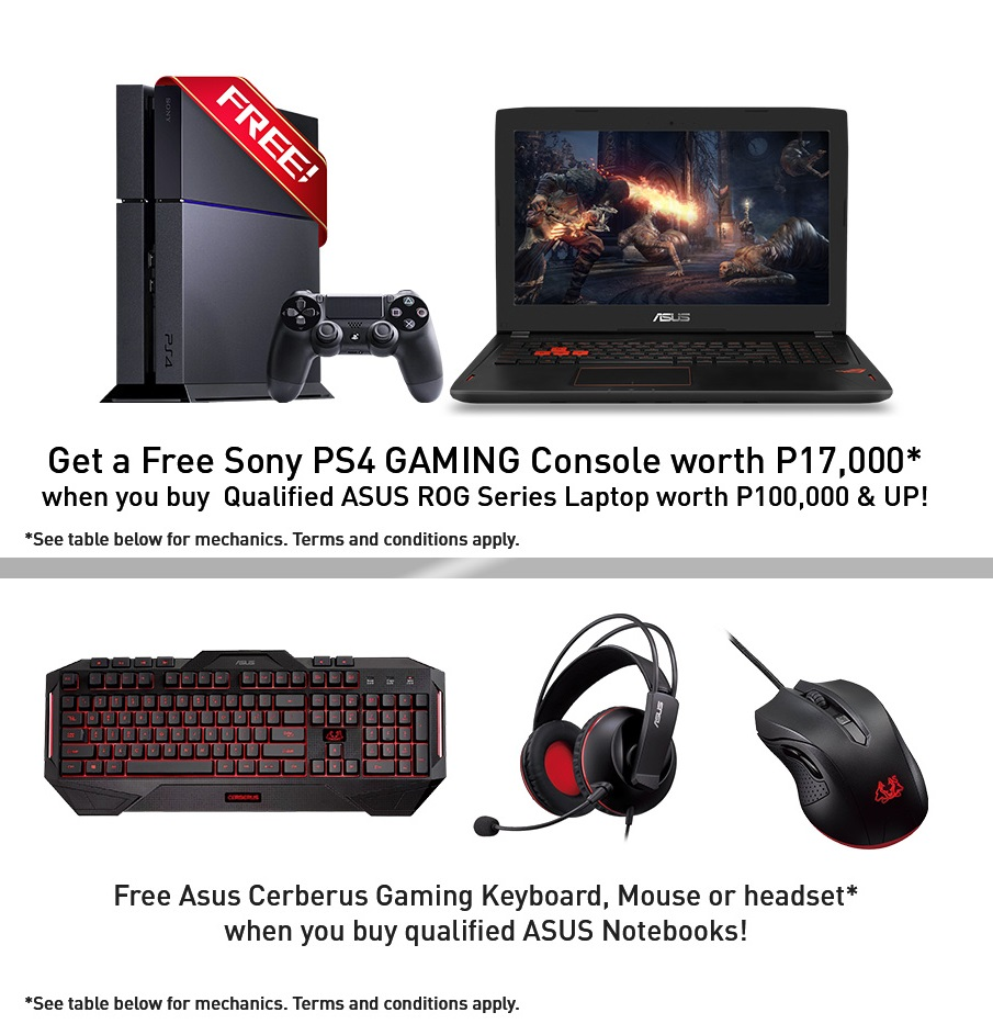 PC Express Announces ASUS ROG Anniversary and Payday Weekend Promo!