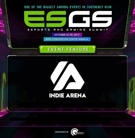 ESGS 2017 Indie Arena 470x480 - Here's What to Look Forward to at ESGS 2017