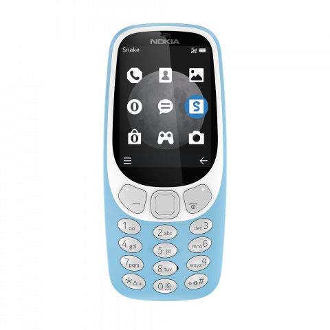 Nokia 3310 3G Azure front 480x480 - Nokia 3310 with 3G Now Available in PH: Priced at PhP2,790