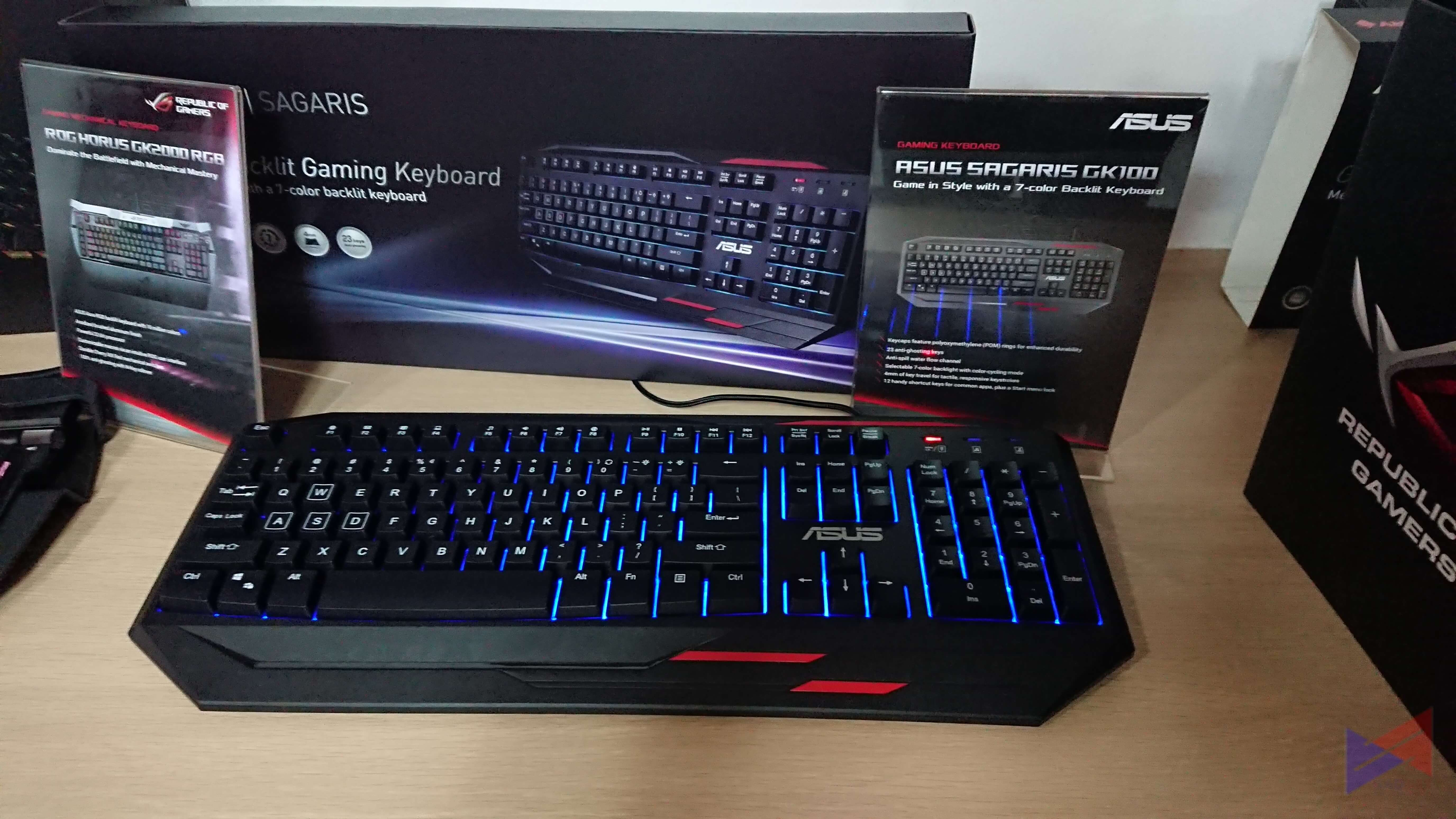 ASUS ROG Gives a Sneak Peak of Newest Tees and Peripherals for PH