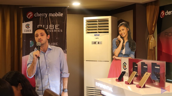 Cubix OnRev Series 33 - Cherry Mobile introduces new Cube OnRev Series, starts at PhP999