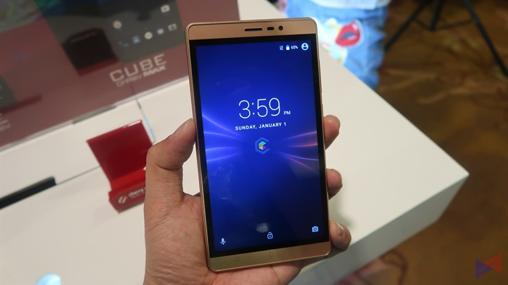Cubix OnRev Series 6 - Cherry Mobile introduces new Cube OnRev Series, starts at PhP999