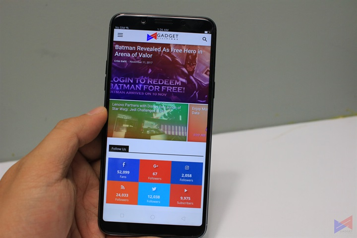 OPPO F5 Review, OPPO F5 Review: The New Selfie Expert Goes Full Screen!, Gadget Pilipinas, Gadget Pilipinas