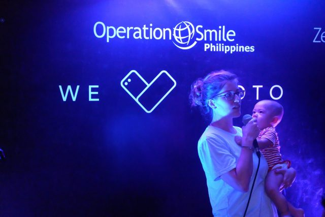 Operation Smile Director for Programs Christine Lu with Ari Lu 640x427 - ASUS PH Partners with Operation Smile for Medical Mission in Iloilo