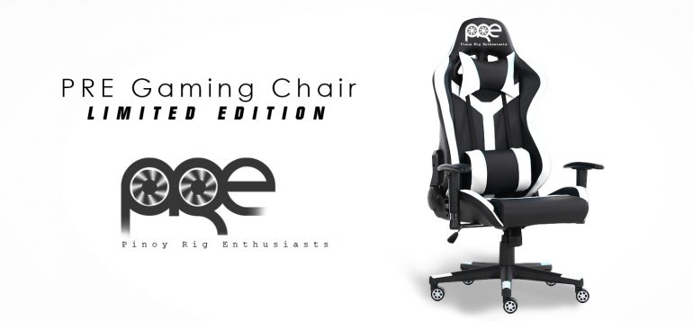 ad1 770x357 - Pinoy Rig Enthusiasts and Glaiiide collaborate to sell limited edition PRE Gaming Chairs