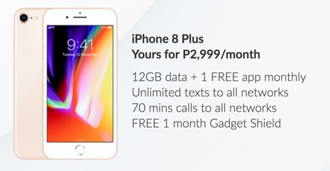 iphone8plus Smart1 jpg - iPhone 8 and iPhone 8 Plus Available on Smart Postpaid Starting November 17: Now Up for Pre-Orders!