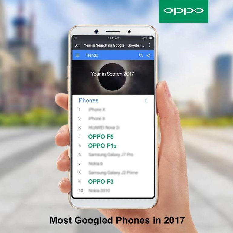 25348521 10157122784058079 7795861457090846518 n 770x770 - OPPO F5 and F1s are among the most searched Googled smartphones