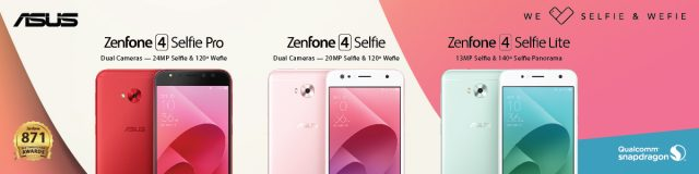 ASUS ZenFone 4 Selfie Series 640x160 - ASUS Philippines Joins Again Lazada's Biggest Online Revolution